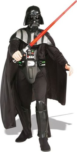 Adult Deluxe Darth Vader Costumes (Deluxe Darth Vader Adult Costume - X-Large)