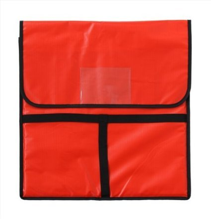 New Star 50097 Insulated Pizza Delivery Bag, 20 by 20 by 5-Inch, Red New Star Foodservice