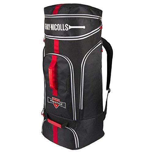 Gray Nicolls Prestige Duffle Bag (2018) - Black/Red/White