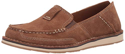 Ariat Women's Women's Cruiser Moccasin, Chestnut Suede, 11 B US