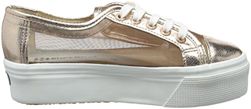 Pink 2790 Sneakers Superga Adults' Netw Unisex Rose Gold Platform HBYfqqgP
