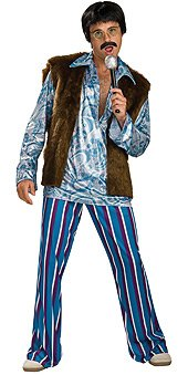 Rubie's Men's Rock Star Guy Costume, As Shown,