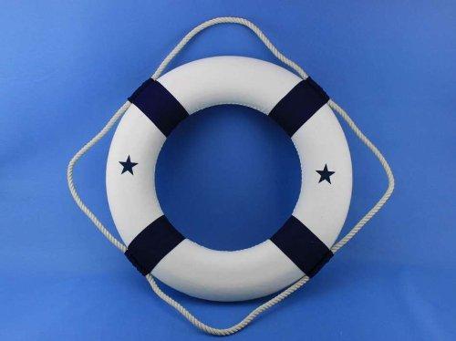 Hampton Nautical Lifering, 20'', Blue by Hampton Nautical (Image #4)