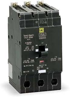 square d circuit breaker 100 amp 3 pole edb34100 magnetic rh amazon com Old Square D Panels Dual Square D Fuse Box