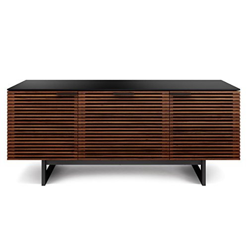 BDI Corridor 8177 Triple Wide TV Cabinet (Chocolate Stained Walnut) by BDI Furniture