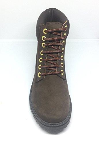 Pelle Marrone Boots Uomo Boot Ankle Lumberjack 8gUCW
