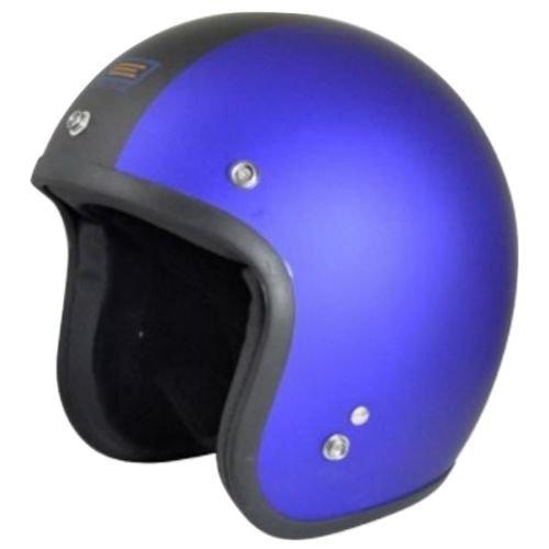 (Origine O500 Jet 3/4 Open Face Motorcycle Helmet DOT Cafe Racer Retro Vintage (Flat Royal Blue/Black Gara))