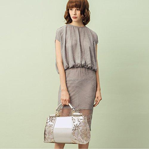 Sac pour de Sac Pu voyage bandoulière Nouveau Nicole Messenger Sac à femme White Bag Doris à bandoulière EfUPRqP