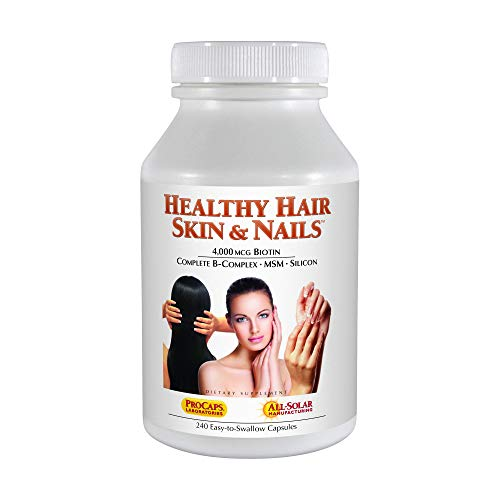 Andrew Lessman Healthy Hair, Skin & Nails, 240 Capsules (Best Vitamin A Skin Products)