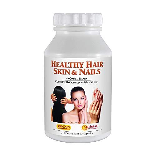 - Healthy Hair, Skin & Nails (240 Capsules)