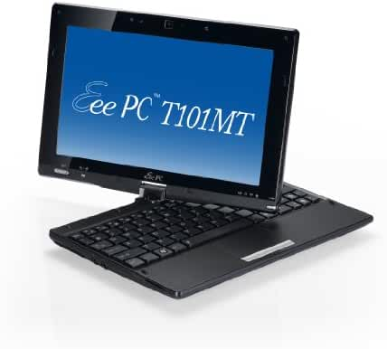 ASUS Eee PC T101MT-EU27-BK 10.1-Inch Convertible Tablet (Black)