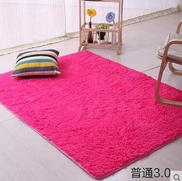 kooco 100 x 200 cm Schlafzimmer Wohnzimmer Größe Teppich Rechteck ...
