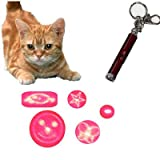 Pet Laser Toy Dog Cat Toy 5 Patterns Pointer Turn to Change the Pattern No Need to Change Head 2013 New Arrival, My Pet Supplies