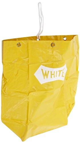 Impact-6851-Vinyl-Replacement-Bag-25-gallon-Capacity-Yellow-For-6850-Janitors-Cart-Case-of-40