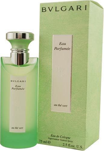 Té verde de Bvlgari de Bvlgari para hombres y mujeres, aerosol de Colonia, 2,5 onzas botella