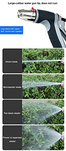 FXPT1201 Garden Hose,3 Times Extendable Garden Hose Pipe Multifunction Spray Nozzle Magic Hose Easy Storage Flexible Water Hose (Size : 5m)