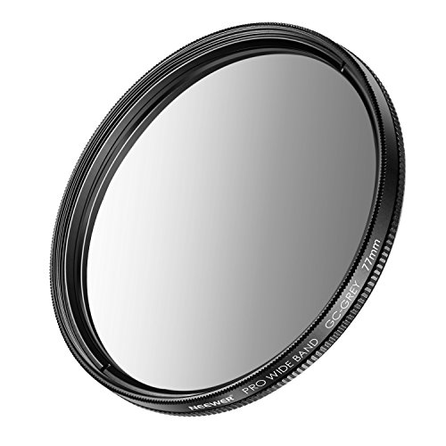 Neewer 77mm Graduated Neutral Density Filter (Grey) for Canon Rebel with Canon EOS EF 24-105mm f/4 L IS USM Zoom Lens,Nikon 28-300mm f/3.5-5.6G ED VR II AF-S Zoom Lens and Other Cameras with 77mm Lens