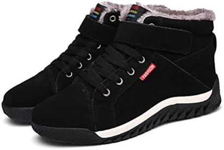 大きいサイズ 綿靴 学生 韓国風 メンズ 靴 裏ボア ワークブーツ 雪靴 歩きやすい 防滑 防水 ウォーキングシューズ 安全靴 レースアップ 厚底 ショートブーツ メンズ 作業靴 メンズブーツ 通気性 アウトドア 防水