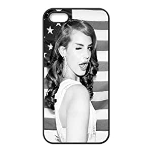 Celebrities Lana Del Rey iPhone 4 4s Cell Phone Case Black Protect your phone BVS_558208