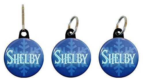 [Buttonsmith® Shelby Winter Ice Tags of Return] (Elsa Costume Change)