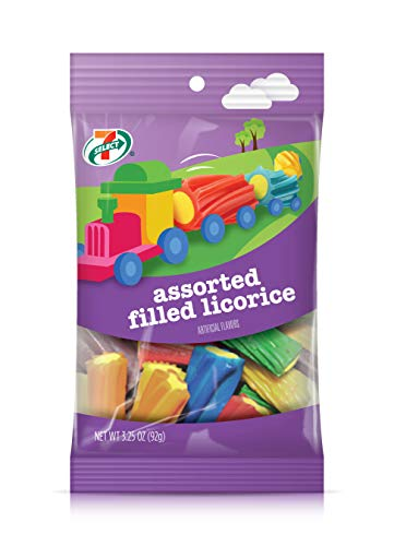 Filled Licorice - 7-Select Assorted Filled Licorice, 3.25 Ounces (6-Pack)