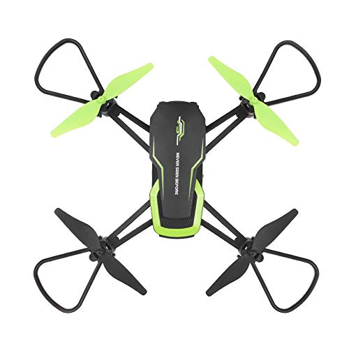 quietJUNjun toy RC Helicopter,Mini 601W 2.4G WiFi FPV 0.3MP HD Camera with Altitude Hold RC Quadcopter Drone (Black)