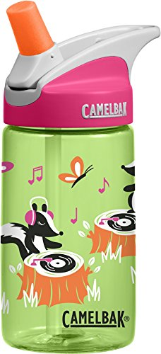 CamelBak Eddy Kids Water Bottle, Dj Skunx, .4 L