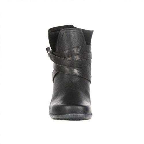 Fb Mode Laarzen 4eursole Rkh132 M Troost 4ever Vrouwen Zwart / Dames Diep Zwart Zwarte Letters