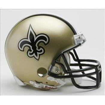 New Orleans Saints Replica Helmet - NFL New Orleans Saints Replica Mini Football Helmet