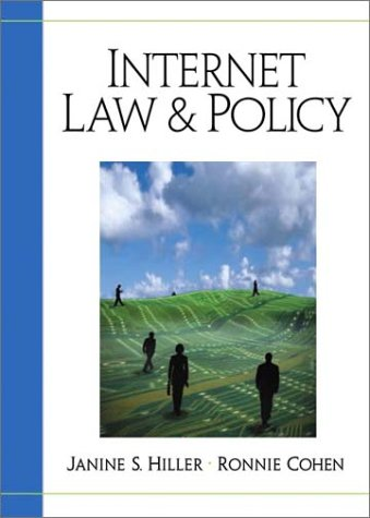 Internet Law and Policy