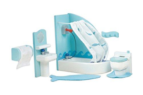 Le Toy Van Dollhouse Furniture & Accessories, Sugar Plum Bathroom (Van Toy Sugar Le)