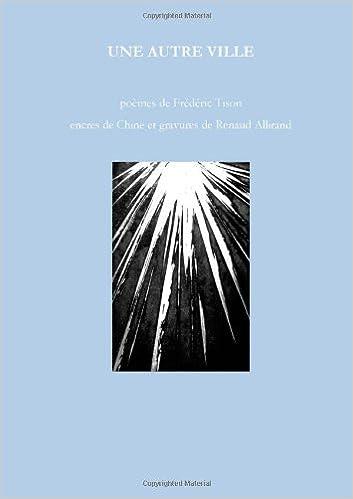 Livres Une autre ville pdf ebook