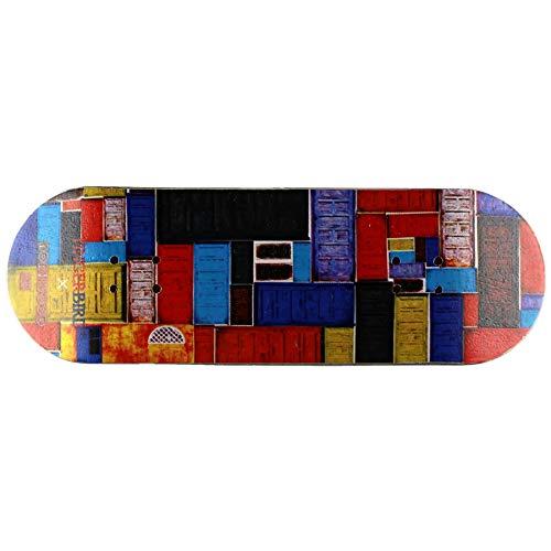 NOAHWOOD X Fingerbird Wooden PRO Fingerboards Deck (6 Plies Colour Canada Maple Wooden Hand Made) (Door I, 100x32mm)