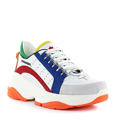 Mujer De Ss Bianco Dsquared2 Bumpy 551 Zapatos Sneaker 2019 570dwxq
