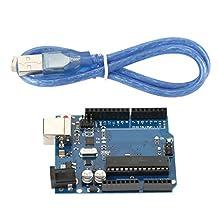 Placa de desarrollo ATmega16U2 con cable USB Descarga de ISP digital ISP digital compatible para la plataforma de creación de prototipos UNO R3