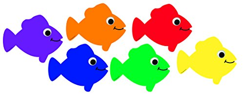 Hygloss Products Fish Classroom Accents – Creative Teaching Resources – 7.5 Inches, 30 Pack ()