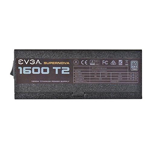 EVGA Supernova 1600 T2 1600WATT 80 Plus Titanium, 220-T2-1600-X2 (80 Plus Titanium)