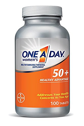 One-A-Day Women's 50+ Advantage Multivitamins, 2Pack (220...