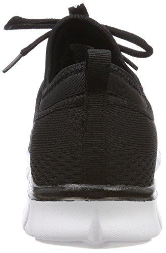 KangaROOS Unisex-Erwachsene K-Run Neo Sneaker Schwarz (Jet Black)