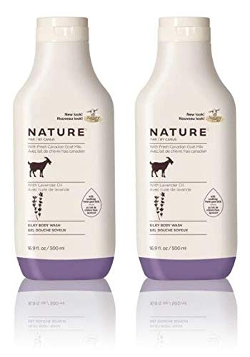 ender Oil Body Wash (Pack of 2) With Fresh Goat's Milk, 11.8 fl. oz. ()