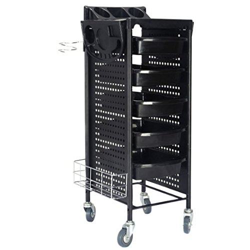 Giantex Styling Station Trolley Equipment