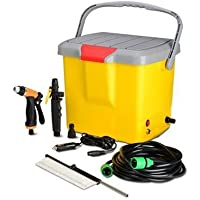 Sea Spirit Portable Plastic High Pressure Car Washer Spray Gun Accessories (Multicolour)