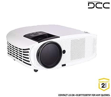 DCC PROJECTORS 4K LED Projector UHD with MIRACAST