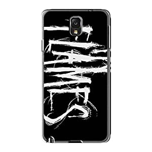 Samsung Galaxy Note3 Bnx13637VBka Support Personal Customs Beautiful In Flames Band Skin Shock-Absorbing Hard Phone Cases -InesWeldon