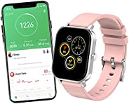 Relógio Smartwatch Inteligente XFTOPSE para Masculino e Feminino, Smartwatch IP68 À Prova Dágua com Monitor de