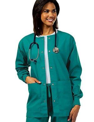 d16d6e78857 CLEARANCE Tafford Essentials Basic Scrub Jacket NAW620 X-Small SURGICAL  GREEN. Tafford Uniforms