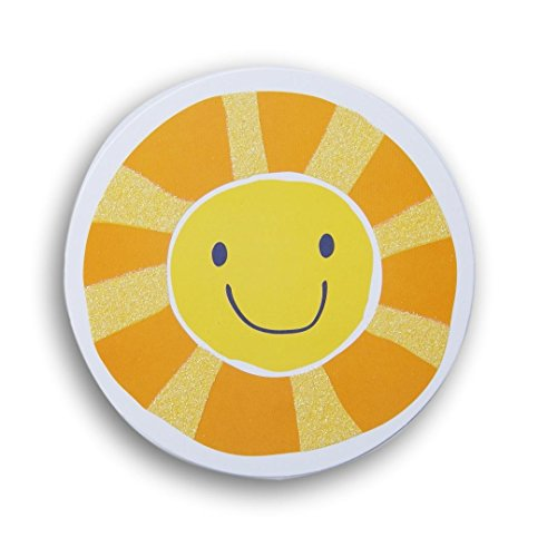 Classroom Decor Glitter Cut-Outs - Smiley Face Sun - 10 Count