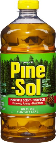 Pine-Sol Multi-Surface Cleaner, 60-Fluid Ounce Bottles (Pack of 6)