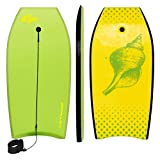 Goplus 41 inch Super Bodyboard Body Board EPS Core, IXPE Deck, HDPE Slick