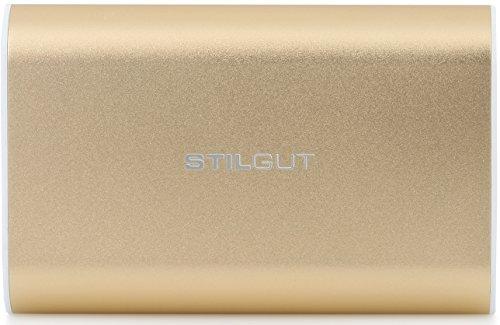 StilGut Magic Wand Power Bank, batterie mobile de 7.800 mAh, de color oro Oro